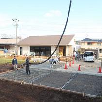 施設は通常業務なので、ポンプ車を併用しながら短期で工事を完了させるように工程を組みました。