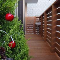 去年のクリスマスには~完成直後の写真。