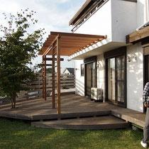 完成後、家がより立体的になりました。