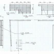 提案資料のうち、弊社ではイタウバのウッドフェンスを施工させていただきました。