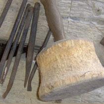 Knüpfel und Bildhauermeisel