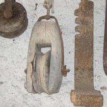 Hebezeuge für Steinmetzarbeiten, Flaschenzug