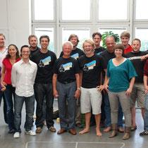 Der Webmaster Roland Suckow und das Jimdo-Team