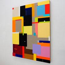 Richard Schur, Sensation, 2017, acrylic on canvas, 140 x 110 cm / 55 x 43 inch