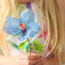 Hibiskus aus Wafer Paper | Floralilie Sugar Art