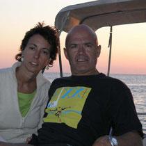 Puesta de sol en Illetas, Formentera