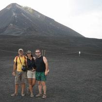 El volcán Etna, Sicilia