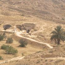 Cuevas trogloditas de Mahmata, Túnez