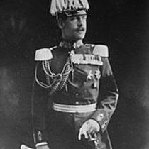Contantin Ier en uniforme de maréchal allemand (1913)