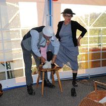 Komiker Gottfried und Elise aus dem Emmental, Kanton Bern, aus unserem Komikerprogramm
