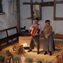 Auftritt in der Caci Mühle April 2016 mit den Komikern Gottfried und Elise