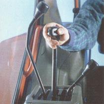 Gangschaltung der zweiten Generation Fiat Winner