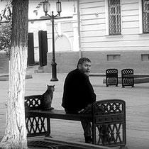 """Жанна Валиева (vgannaa), Оренбург, Россия     Оренбург, 2016 г. """" Двое на скамейке - молодость и старость """""""