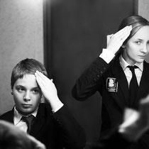 Двойной портрет. Анна Эргардт. Россия, Москва