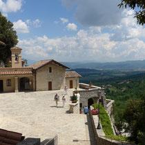 Das Kloster von Greccio
