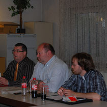 Michael Maurer, Peter Gras, Andreas Nick