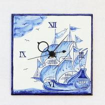 No.130 壁掛け時計(船 名入れ可) (15×15㎝) 10,000円