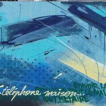 Fresque murale Peinture Fraiche, Agen.