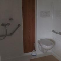 lot et bastides  Mobilhomes für Behinderte geeignet Toiletten