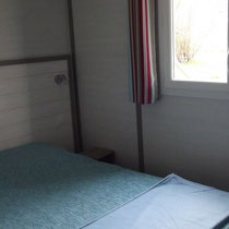 lot et bastides  chalets sleeps 6 second sleeping room