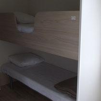lot et bastides  Mobilhomes für Behinderte geeignet Kinderschlafzimmer