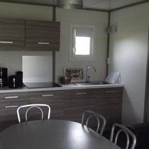 lot et bastides  chalets sleeps 6 kitchen