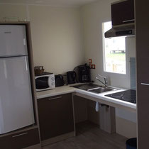 lot et bastides  mobilhome for disabled kitchen