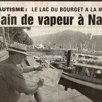 En première page du Dauphiné Libéré