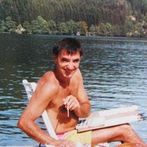 C'était il y a quelques années...aquarelle au bord du lac