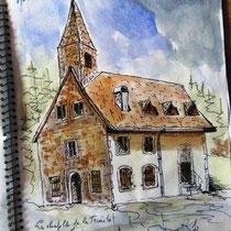 * 739- La chapelle de la Trinité, 25 x 35