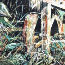 235- la roue d'eau du haut-fer de la scierie des frères Georges à Clefcy