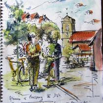 Carnet de voyage, halte à Bussang