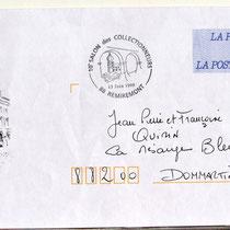 286- 3ème prêt-à-poster sorti en France en juin 1999, sans autorisation (!) le fait étant nouveau, à l'initiative conjointe de la Poste de Remiremont et de la Mairie.