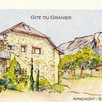 151- Le gîte du Granier Apremont Savoie, chez Sophie et Jean-Fabrice.
