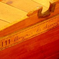 """...baptisée """"La savoyarde"""" Celle-ci restaurée reste un exemplaire unique..."""