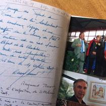 Rencontre avec Raymond Poulet, très grand peintre, à Zillisheim près de Mulhouse.
