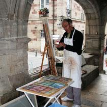 L'art dans la rue à Luxeuil-les-Bains