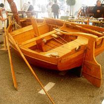La barque de pêche traditionnelle du Lac du Bourget.