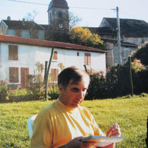 Ici à Ormoy Haute-Saône, chez des amis,au bord du canal de la saône.