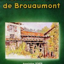 Brouaumont , aquarelle réalisée bénévolement pour l'association 30x40