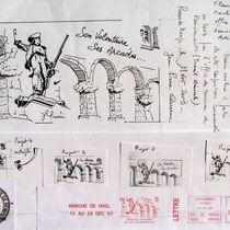 L'évolution d'un projet en images... pour le compte bénévole de Mr  Michel Cotinaux.