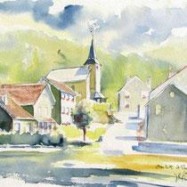 * 442- Beulotte-St-Laurent, haute-Saône, 30 x 40