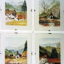 228- Petites aquarelles du Valtin