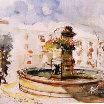 La fontaine des Éléphants, détail