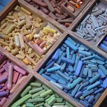 Ma boîte de pastels