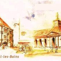 * 451- Marque-page sur les architectures de Luxeuil-les-Bains