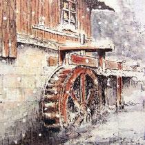 740- La roue d'eau du haut-fer