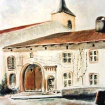 495- Le village de Deyvillers 88