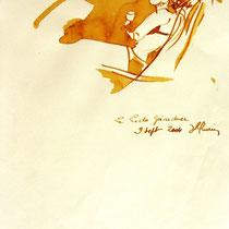 * 256- Lavis teinte merisier, la vie autour du lac de Gérardmer, 21x30