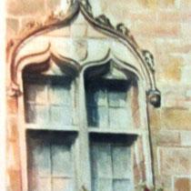105 L'art dans la rue à Luxeuil-les-Bains,une des fenêtres de la Bibliothèque